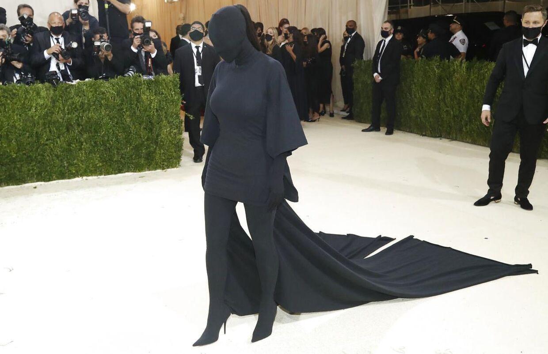 Kim Kardashian på den røde løber.