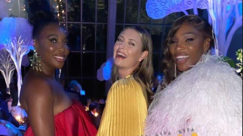 Venus Williams, Maria Sharapova og Serena Williams.