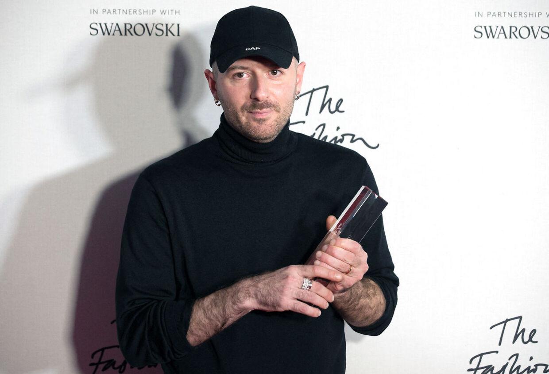 Dsigner og kreativ direktør for Balenciaga Demna Gvasalia.