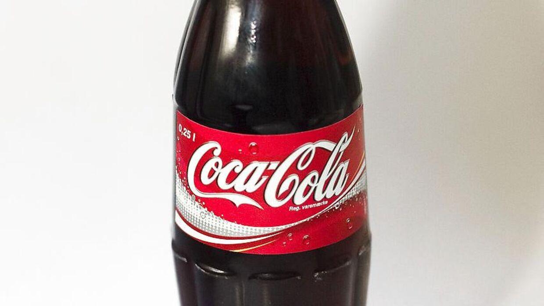 Arkivfoto. Et pati Coca Cola Zero-flasker er blevet tilbagekaldt.