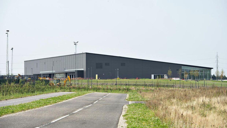 Apples datacenter i Foulum nordøst for Viborg. Arkivfoto.