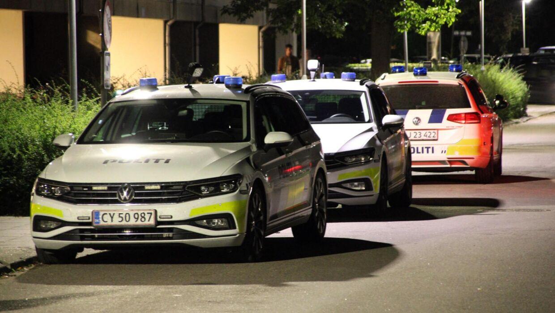 Et skud er blev affyret i Holbæk. Foto: Presse-fotos.dk