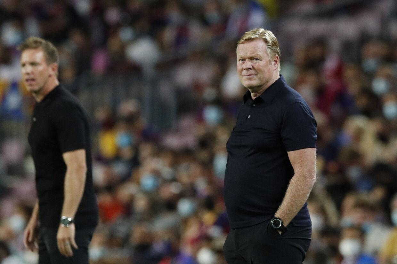 Ronald Koeman og FC Barcelona tabte tirsdag aften 0-3 til Bayern München hjemme på Camp Nou. Albert Gea/Reuters
