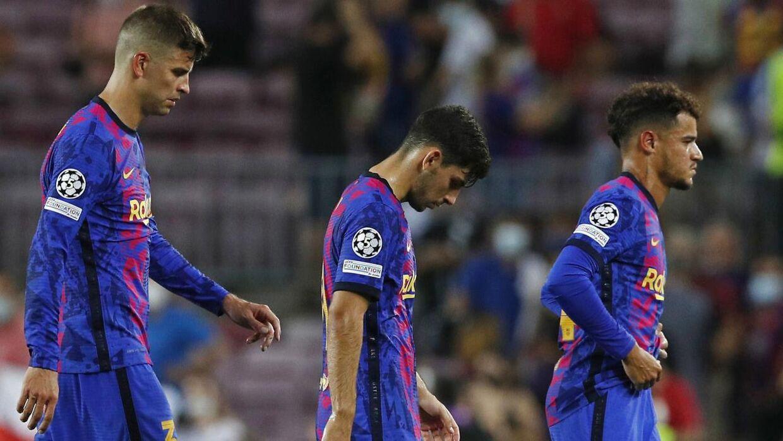 FC Barcelona blev sat på plads af Bayern München.