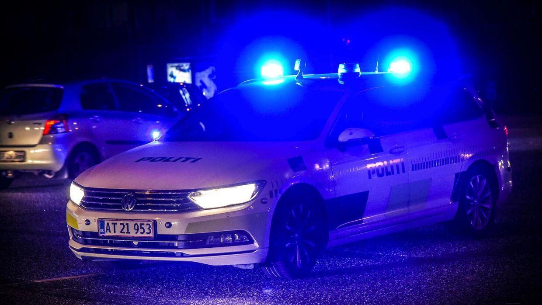 Politiet måtte rykke ud til en kolonihave ved Vesterkæret natten mellem tirsdag og onsdag.