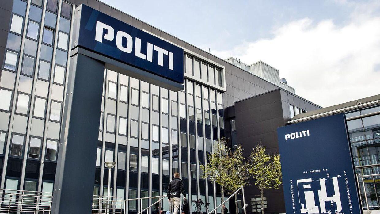 Nordjyllands Politi, politigården i Aalborg.