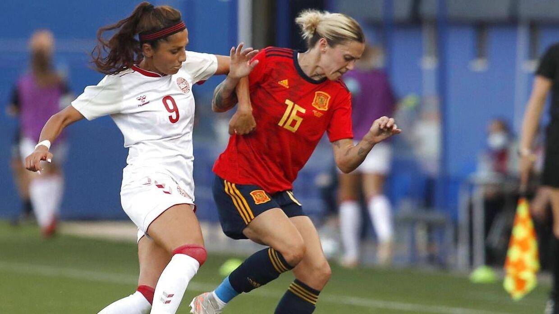 Der går desværre noget tid, før vi igen får Nadia Nadim at se i landsholdstrøjen.