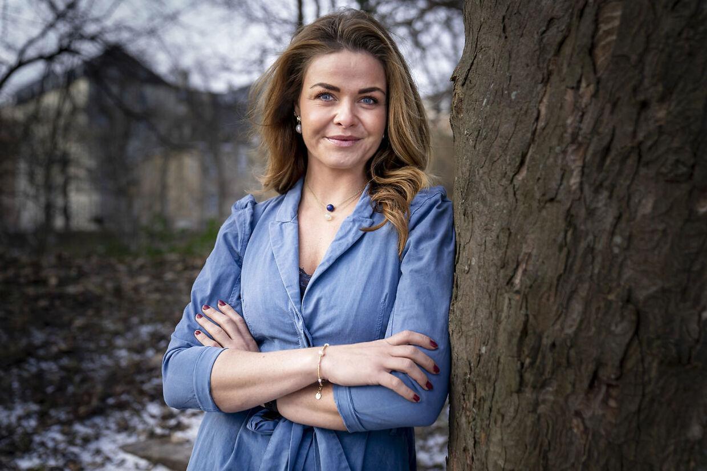 Kagebogsforfatter og tidligere 'Den store bagedyst'-deltager Ditte Julie Jensen.