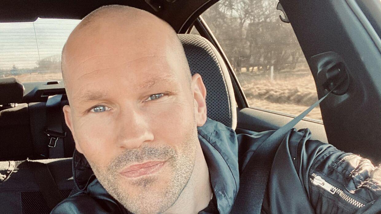 Kristian Bech var på vej hjem fra biografen, da han opdagede tyveriet.
