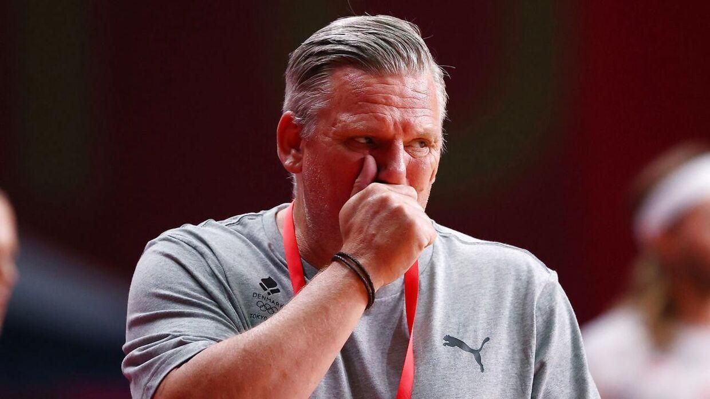 Nikolaj Jacobsen er ikke bekymret for spillernes mange kampe i øjeblikket.