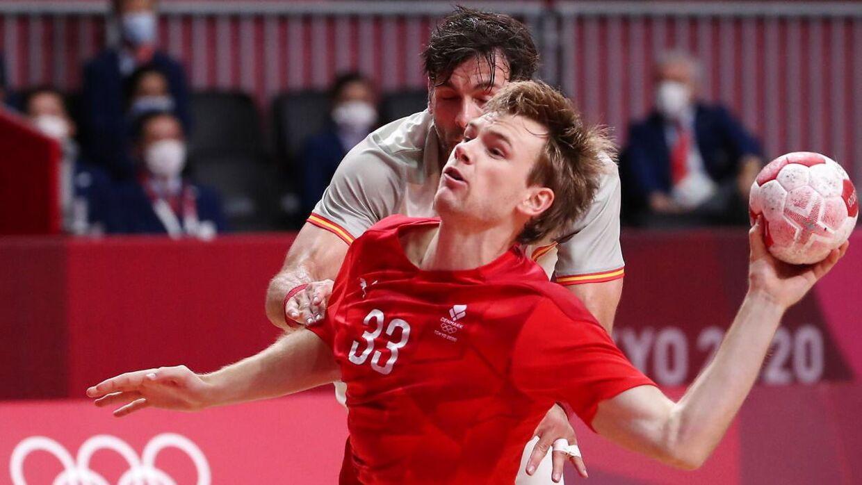 Mathias Gidsel har nok bare været uheldig med sygdom, mener Nikolaj Jacobsen.