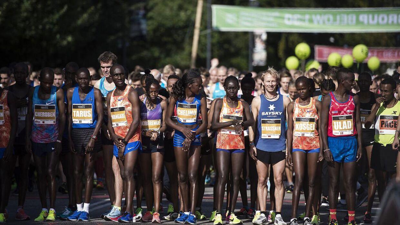 Copenhagen Half Marathon bliver afviklet søndag.