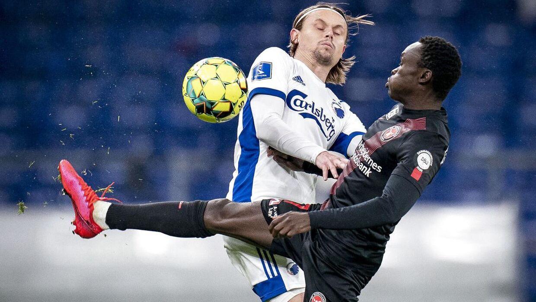 FCK tørner sammen med FC Midtjylland i Parken søndag aften.