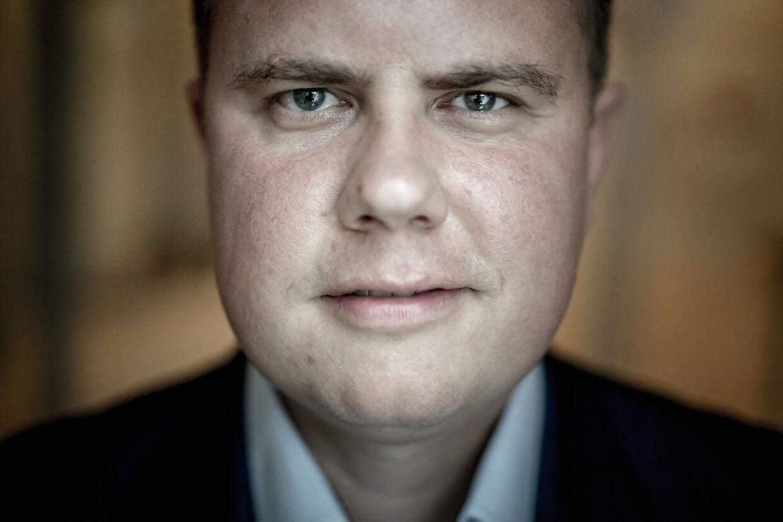 Portræt af Dansk Folkeparties Martin Henriksen, der står i spidsen for partiets idépolitiske taskforce, der skal pudse partiets profil op efter valgnederlaget.