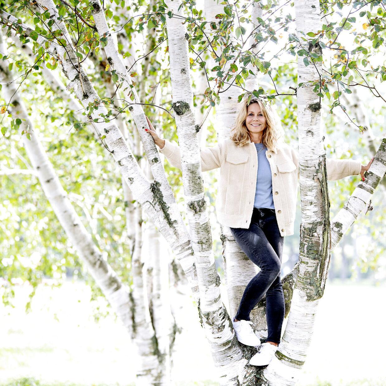 Anne Louise Hassing er i gang med optagelser til 9. sæson af TV 2-serien 'Badehotellet'.