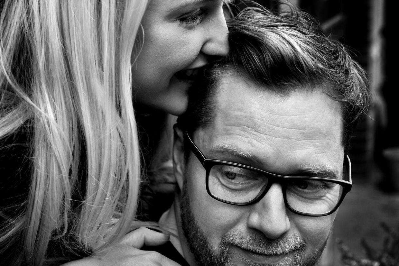 Lasse Rimmer skabte et stand up show om Line Hoffmeyers dårlige hjerte, dengang de var kærester.