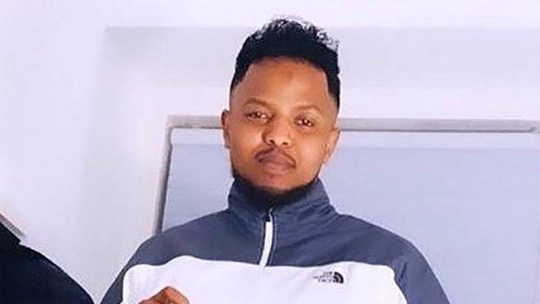 Shmur er den afdøde rapper. Han blev dræbt på Observatorievej ved Væddeløbsbanen i Aarhus den 22. juli 2020. Foto. Privat