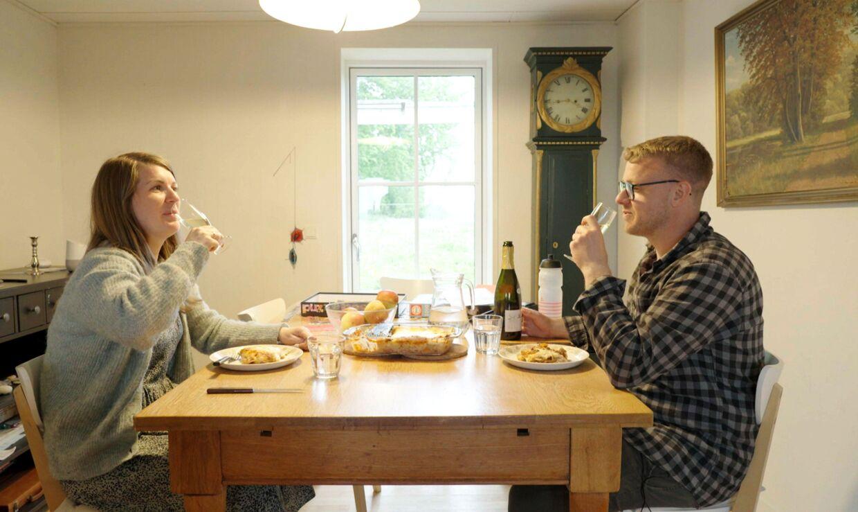36-årige Michael Lundberg og 28-årige Pernille Lundsgaard.