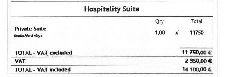 De danske møder i Cannes afholdes i hundedyre lokaler i den franske badeby. Her er regningen for Aalborg Kommunes booking af et mødelokale til 2020-udgaven af MIPIM, som endte med at blive aflyst. I alt 14.100 euro – mere end 100.000 kroner for en 'private suite' i fire dage.