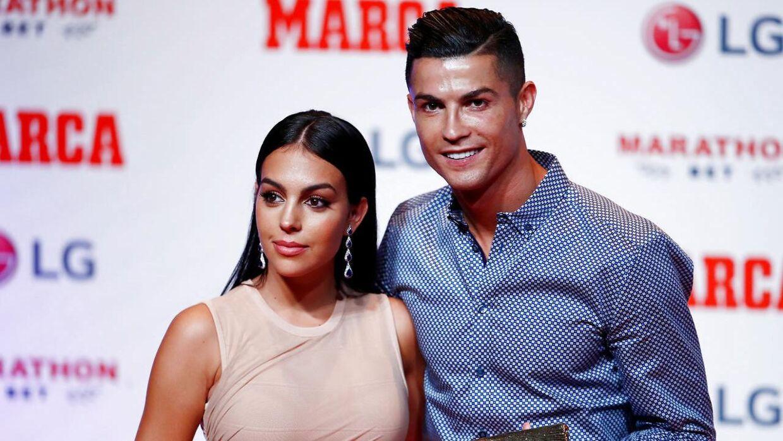 Cristiano Ronaldo og kæresten Georgina Rodriguez.