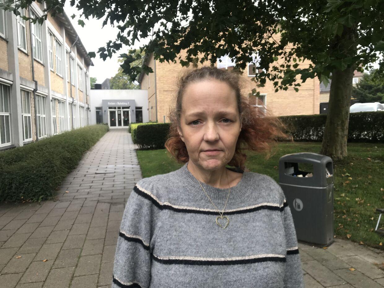 For Pernille Jensen var det en barsk omgang at overvære retssagen mod hendes datters morder ved Retten i Nykøbing Falster.