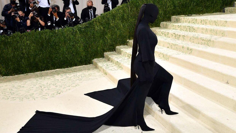 Kim Kardashian til året Met Gala.