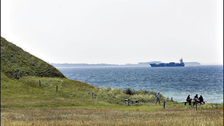 Samsø kan blive en mellemstation for en fast forbindelse over Kattegat. (Arkivfoto). Morten Juhl/Ritzau Scanpix