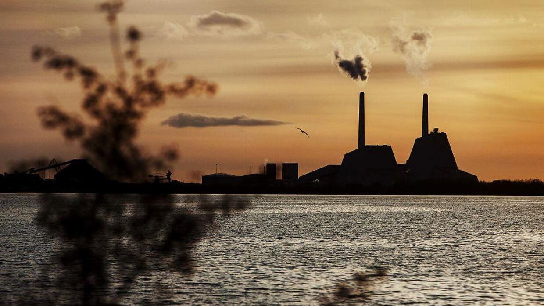 Arkivfoto. Udledningen af drivhusgasser faldt markant fra 2019 til 2020.