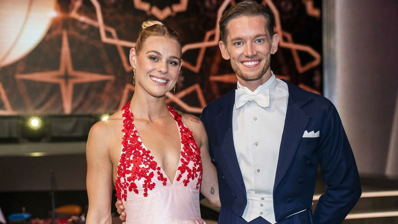 Pernille Blume og Morten Kjeldgaard.