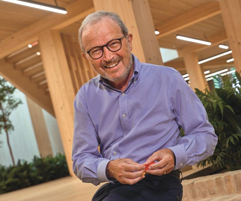 Kjeld Kirk Kristiansen er i dag 73 år.