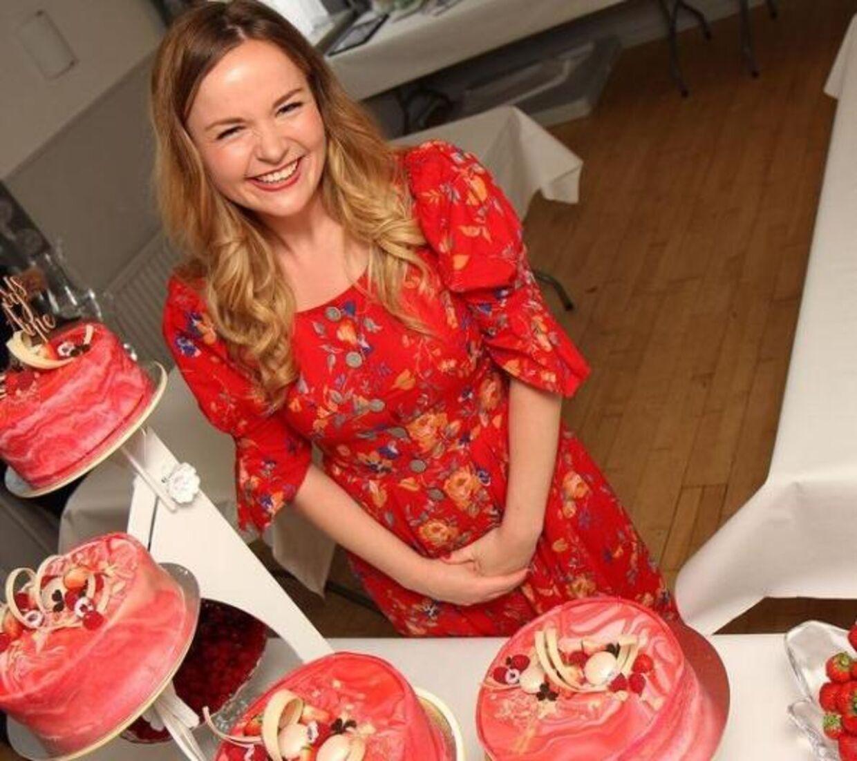 Hun startede med at bage som barn – nu har interessen for det søde køkken for alvor taget fart.
