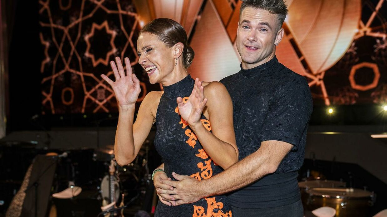 Lise Rønne & Silas Holst til anden program 'Vild med dans'.