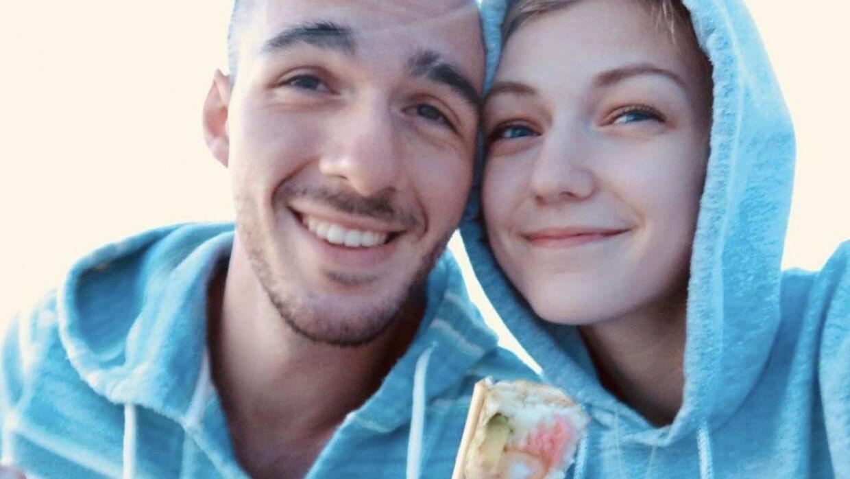 Billedet her blev ifølge Gabbys Instagram taget på parrets første date.