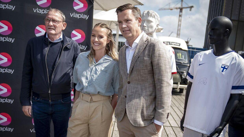 Peter Grønborg var vært på EM-dækningen hos Viaplay i sommer sammen med Signe Vadgaard.
