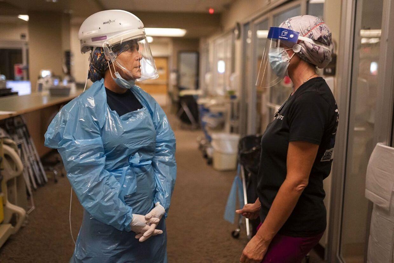 De amerikanske sundhedsansatte har fået nok af uvaccinerede patienter Nathan Howard/Getty Images/AFP