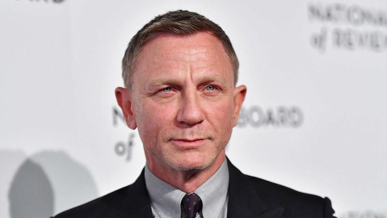 Daniel Craig havde svært ved at holde tårerne tilbage, da han skulle sige farvel til folket bag den nye Bond-film 'No Time To Die.'