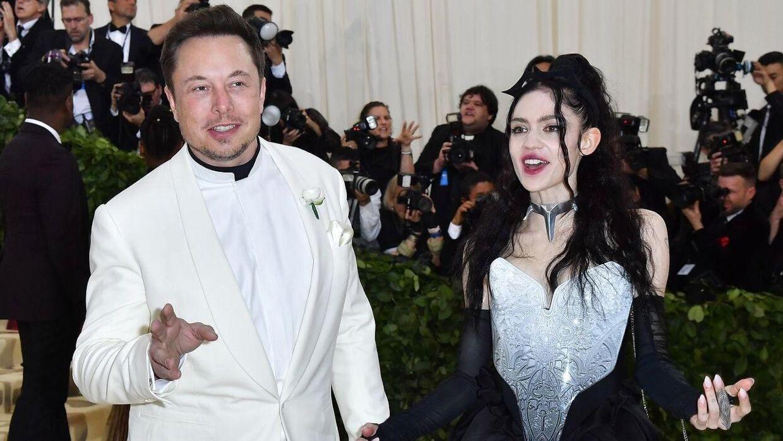 Elon Musk og Grimes søn X Æ A-12 vil ikke kalde hende mor.