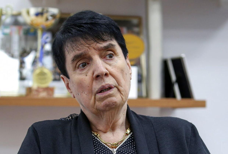 Den georgiske stormester i skak, Nona Gaprindashvili, har sagsøgt Netflix. Foto REUTERS/Irakli Gedenidze