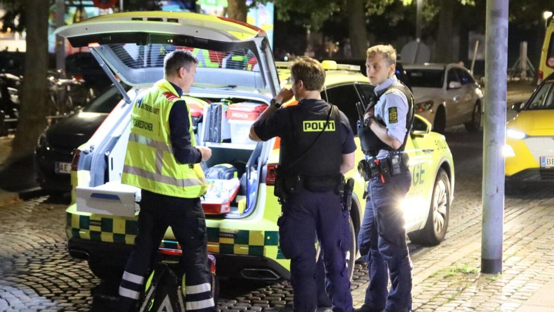 En kvinde mistede lørdag aften livet midt i København.