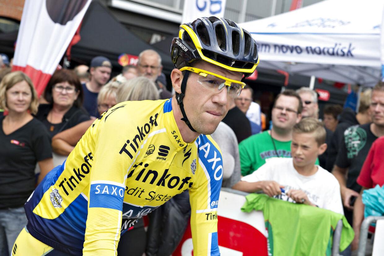 Arkivfoto af Chris Anker Sørensen under sin aktive cykelkarriere.