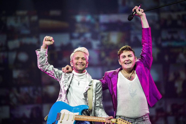 Fyr & Flamme, da de vandt Dansk Melodi Grand Prix i foråret.