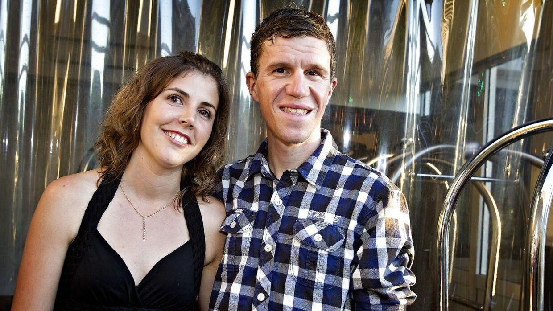 Chris Anker Sørensen og Michelle Moestrup Sørensen tilbage i 2012.