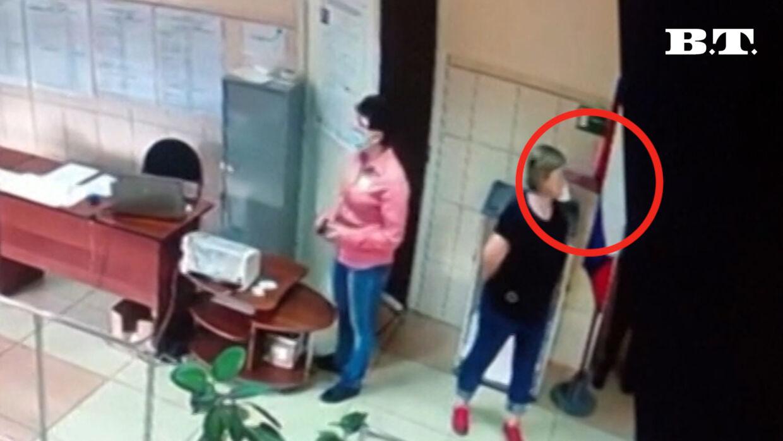 Kritikere mener, at det her er beviset på valgsvindel i Rusland.