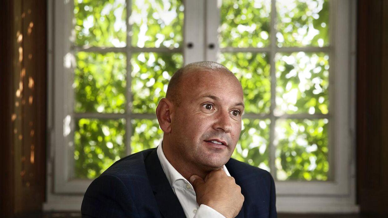 Martin Busk, partner hos byggeudviklerne Bricks med base i Aarhus, har nu solgt Nicolinehus for knap en milliard kroner. (Arkivfoto)