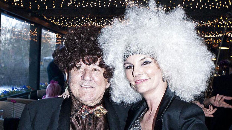 Tage Frandsen satte Jannie Spies hår, da hun blev gift, og siden har de været gode venner.
