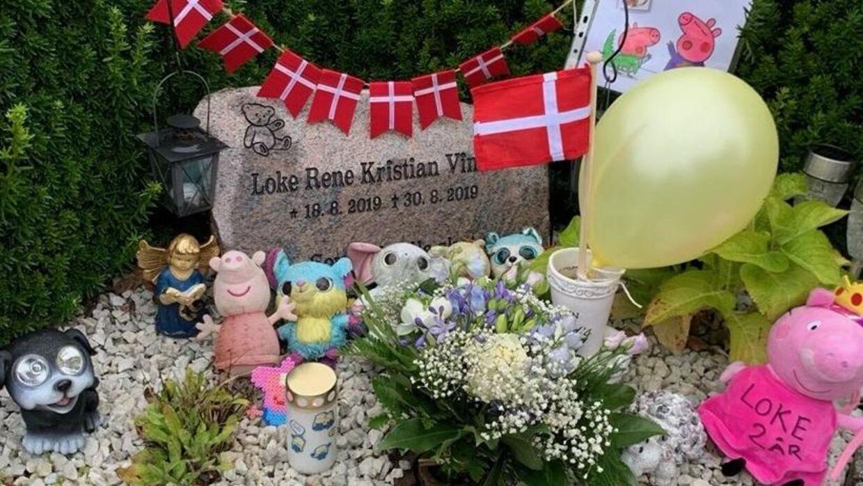 Lotte Vinkel mistede sin lille søn Loke, da han var 12 dage gammel. Hun ville ønske, at hun kunne have beholdt hans aske.