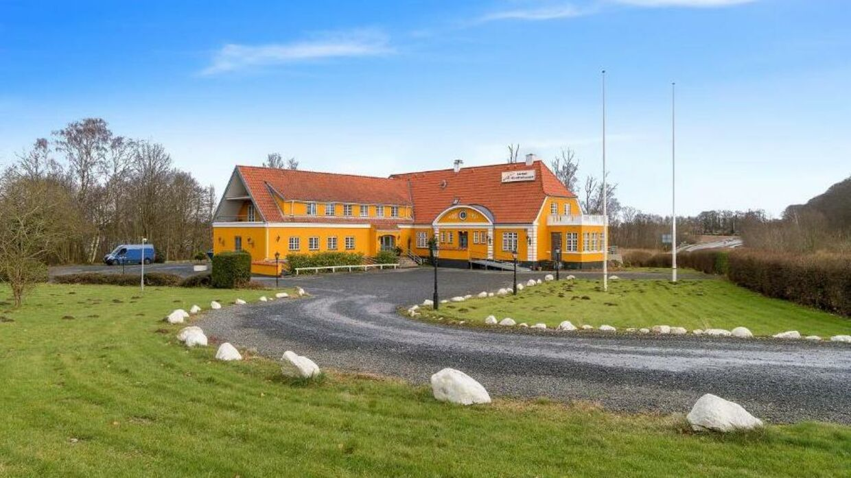 Krebshuset i Sorø har onsdag eftermiddag været i brand.