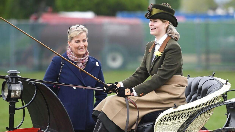 Lady Louise, der er konkurrencekusk, har mange gode minder fra, da hendes bedstefar lærte hende at køre hestevogn.