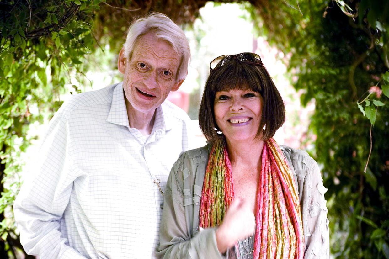 Skuespillerægteparret Jesper Klein og Lykke Nielsen.