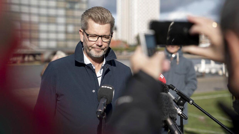 Frank Jensen har fået fjernet bopælspligten i sin lejlighed på Borgmestervænget i det centrale Aalborg.